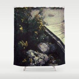 North Cascades National Park - Polaroid Shower Curtain