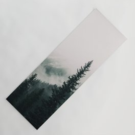 Over the Mountains and trough the Woods -  Forest Nature Photography Yoga Mat