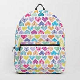 Rainbow Wild Hearts Backpack
