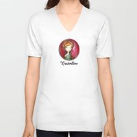 fairytale V-neck T-shirts featuring My fairytale by ByCabotine