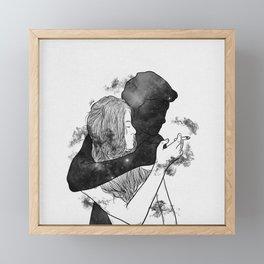 Cigarette smell. Framed Mini Art Print