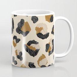 Leopard Print – Neutral Gold Light Palette Coffee Mug