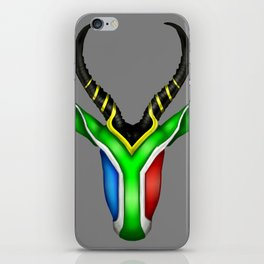 South African Springbok iPhone Skin