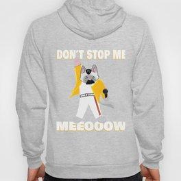 Freddy Meowcury Freddy Mercury as a Cat Hoody