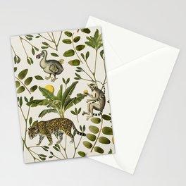 Lemurs Cream Stationery Cards