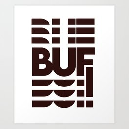 BUF Art Print
