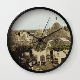 Alberobello Wall Clock