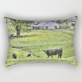 Lazy Days in the Country  Rectangular Pillow