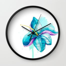 Lili Flower Wall Clock