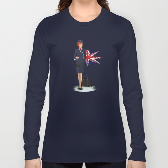 Come fly with me, let's fly, let's fly away - England Long Sleeve T-shirt