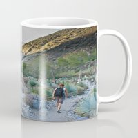 onward Mugs featuring Onward by Kim Ramage