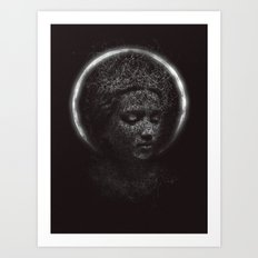 Pray for us Art Print