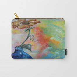 One Solitary Flower Carry-All Pouch