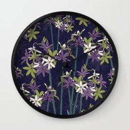 Society Garlic Wall Clock
