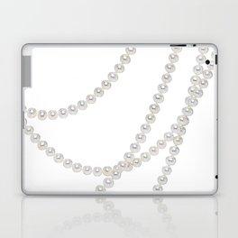White Pearls Laptop & iPad Skin