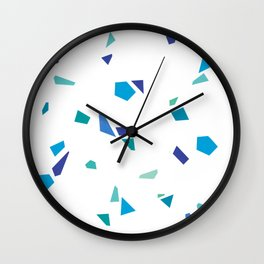 YeS BLuE Wall Clock