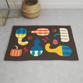 Autumn Gourds Rug