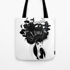 This head I hold - Emilie Record Tote Bag
