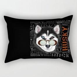 HUSKY AVIATOR Rectangular Pillow
