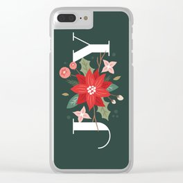 Joy Flourish - Pine Clear iPhone Case
