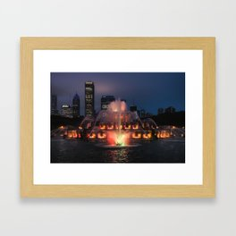Buckingham Fountain Framed Art Print