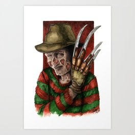 Freddy of your Dreams Art Print