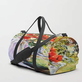 Bouquet of wildflowers. Duffle Bag