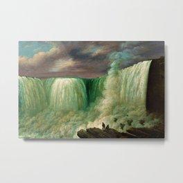 Niagara Falls by Louisa Davis Minot Metal Print