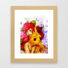 The Little Mermiad Framed Art Print