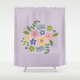 Feral Shower Curtain