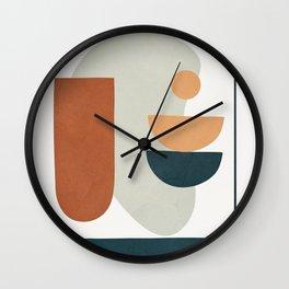 Minimal Shapes No.35 Wall Clock