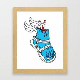 Holy Feet!_by LelosLovesYou Framed Art Print