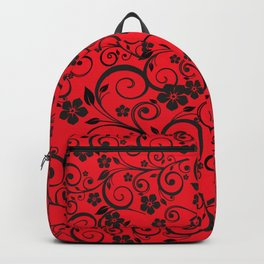 Floral Ornaments Backpack