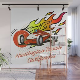 hot rod teeshirt Wall Mural