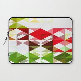 Red Rose with Light 1 Abstract Triangles 1 Laptop Sleeve