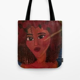 Color And Curls Tote Bag