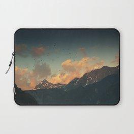 mountain glow Laptop Sleeve