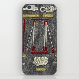 Seaman knots iPhone Skin