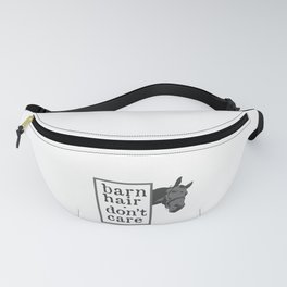Horse Barn Hair Don't Care Horse Lover Fanny Pack