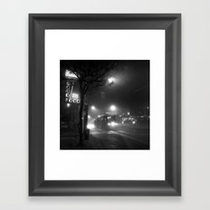 A Streetcar Named Noir Framed Art Print