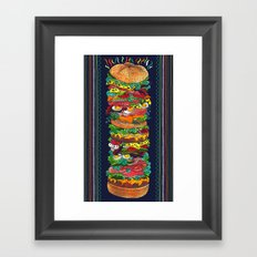 Grandwich Framed Art Print
