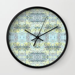 Spring Rain Tribal Wall Clock