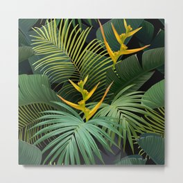 Dark Jungle Metal Print