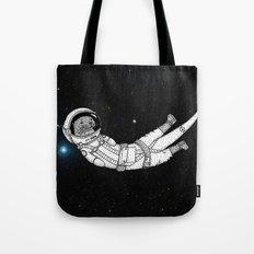 André Floating Around in Otter Space Tote Bag