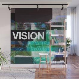 Vision (mixed media) Wall Mural