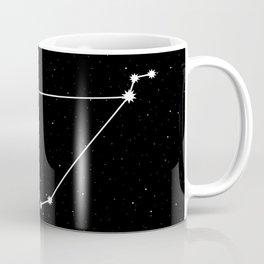 Capricorn Star Sign Night Sky Coffee Mug