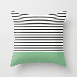 Sailor Stripes Throw Pillow