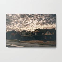 Empty Houses Metal Print