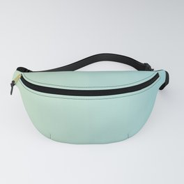 Turquoise Green Blue Gradient Fanny Pack