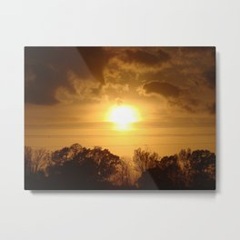 Easter Sunset '10 Metal Print